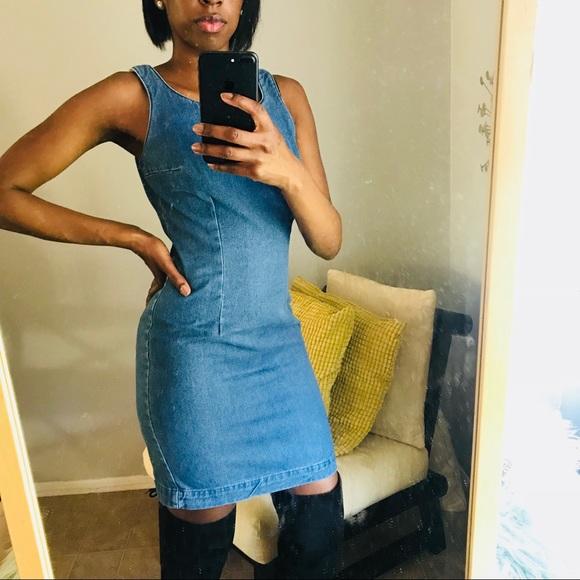Fashion Nova Dresses & Skirts - Vintage jean dress